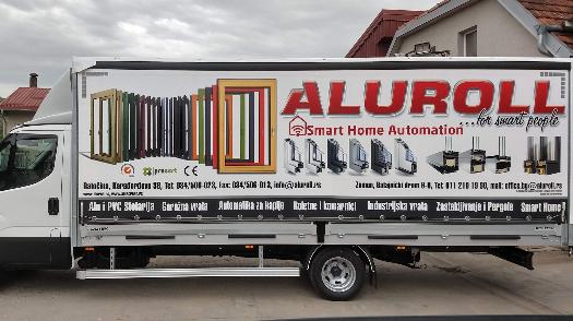 Aluroll vozni park bogatiji za tri nova vozila