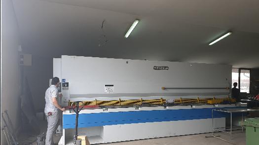 Aluroll Stigla nova mašina za sečenje metala